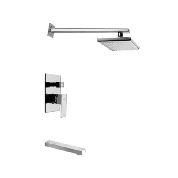 F7 BF702PX NC Exposed shower set