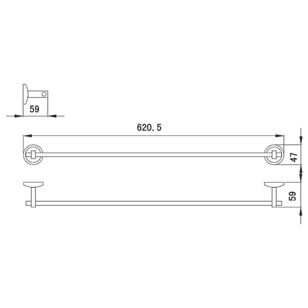 HCG Eton D0702A NC Technical Drawing