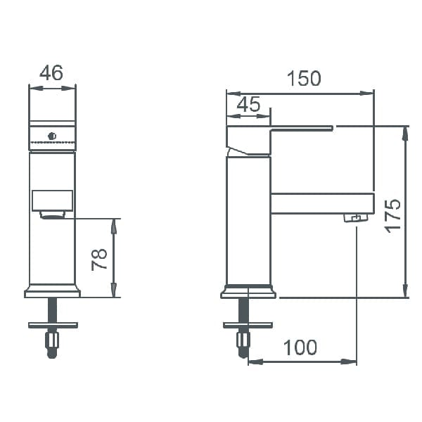 HCG F7 LF7000PX NC Technical Drawing