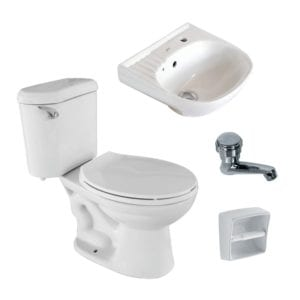Attiva bathroom package AP1110 AW
