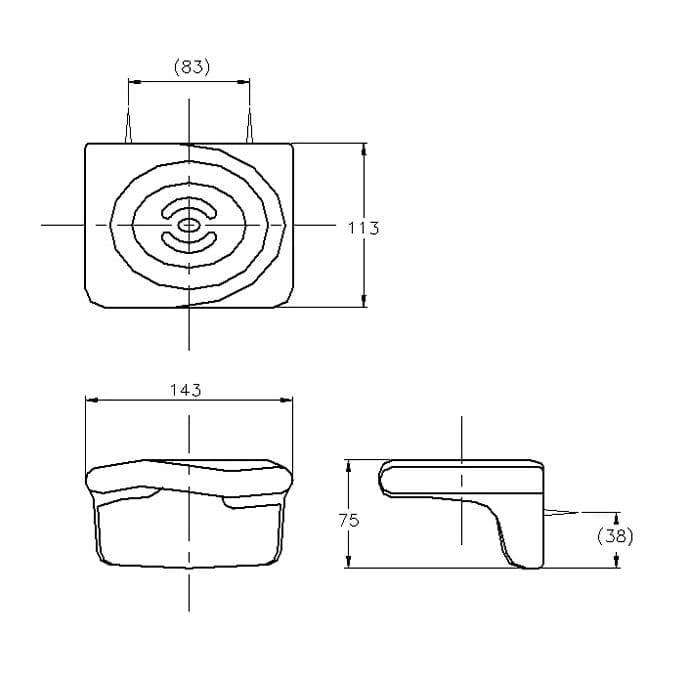 BA2721 soap holder specs