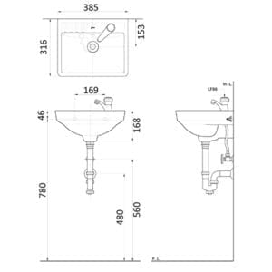 HCG_Attiva_L89 AW Technical Drawing