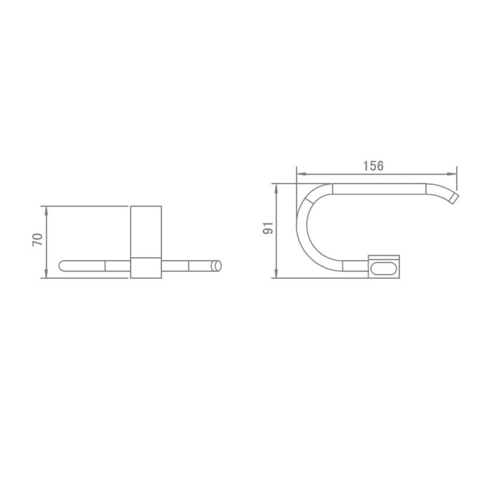 HCG BA4003 NC Tissue Holder Technical Drawing