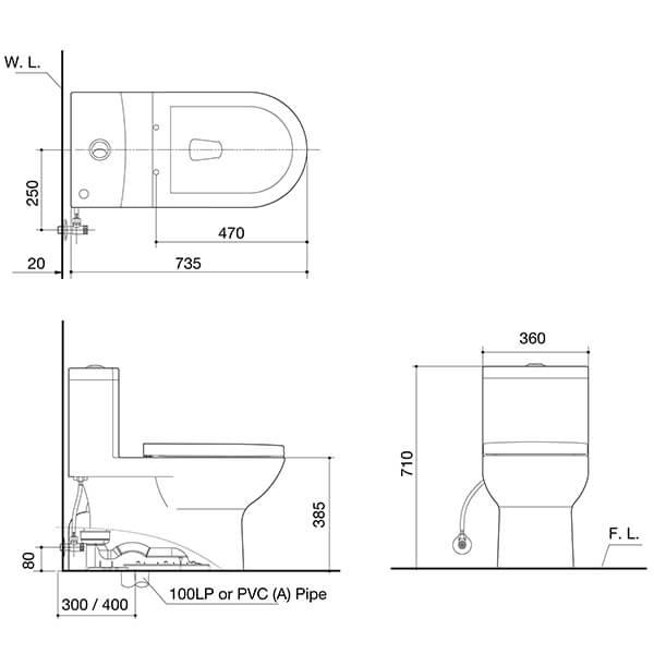 Eton C4520T AW Spec