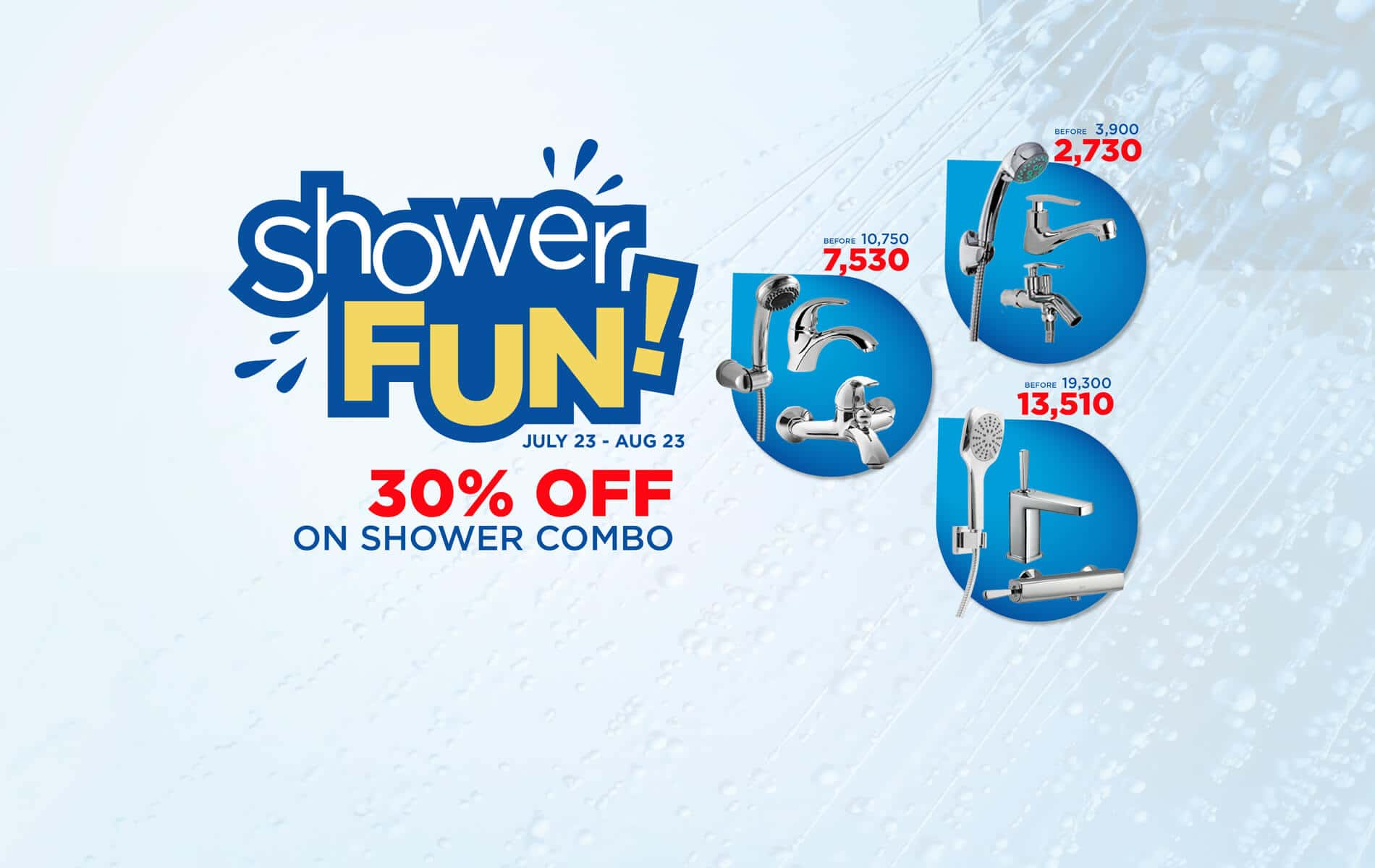 SHOWER FUN PROMO