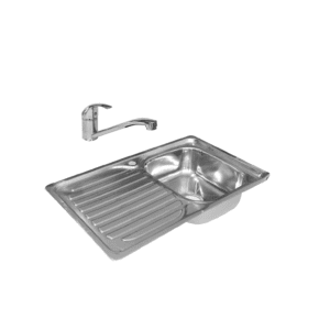 HCG OEC8630 NC Stainless Kitchen Sink