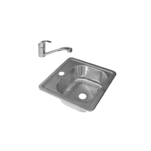 HCG OEC2230 NC Square Kitchen Sink