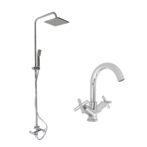 HCG Babylon faucet and Exposed shower combo OEC3094 NC