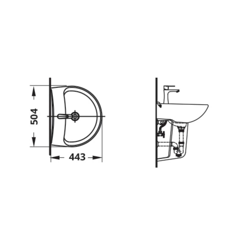 Attiva4.4 LF998S Technical Drawing