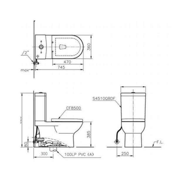 CS4510D-technical Drawing