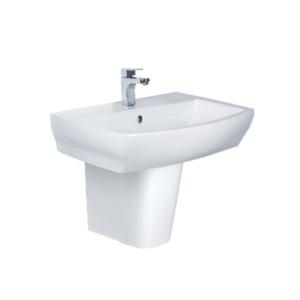 HCG Shangri-la LF4715S short pedestal wash basin