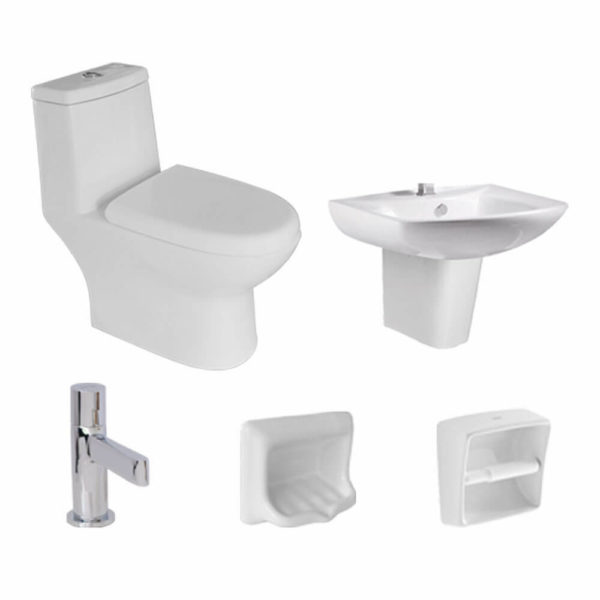 Attiva AP5650 package toilet package