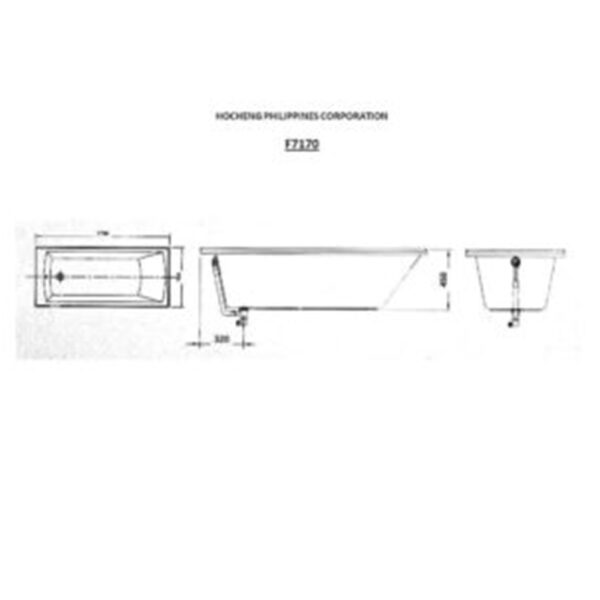 F7170 AW Technical Drawing