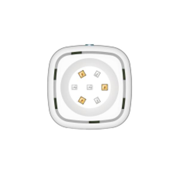 HCG BAUV06 UV LED light sterilizer for toilet bowl and water
