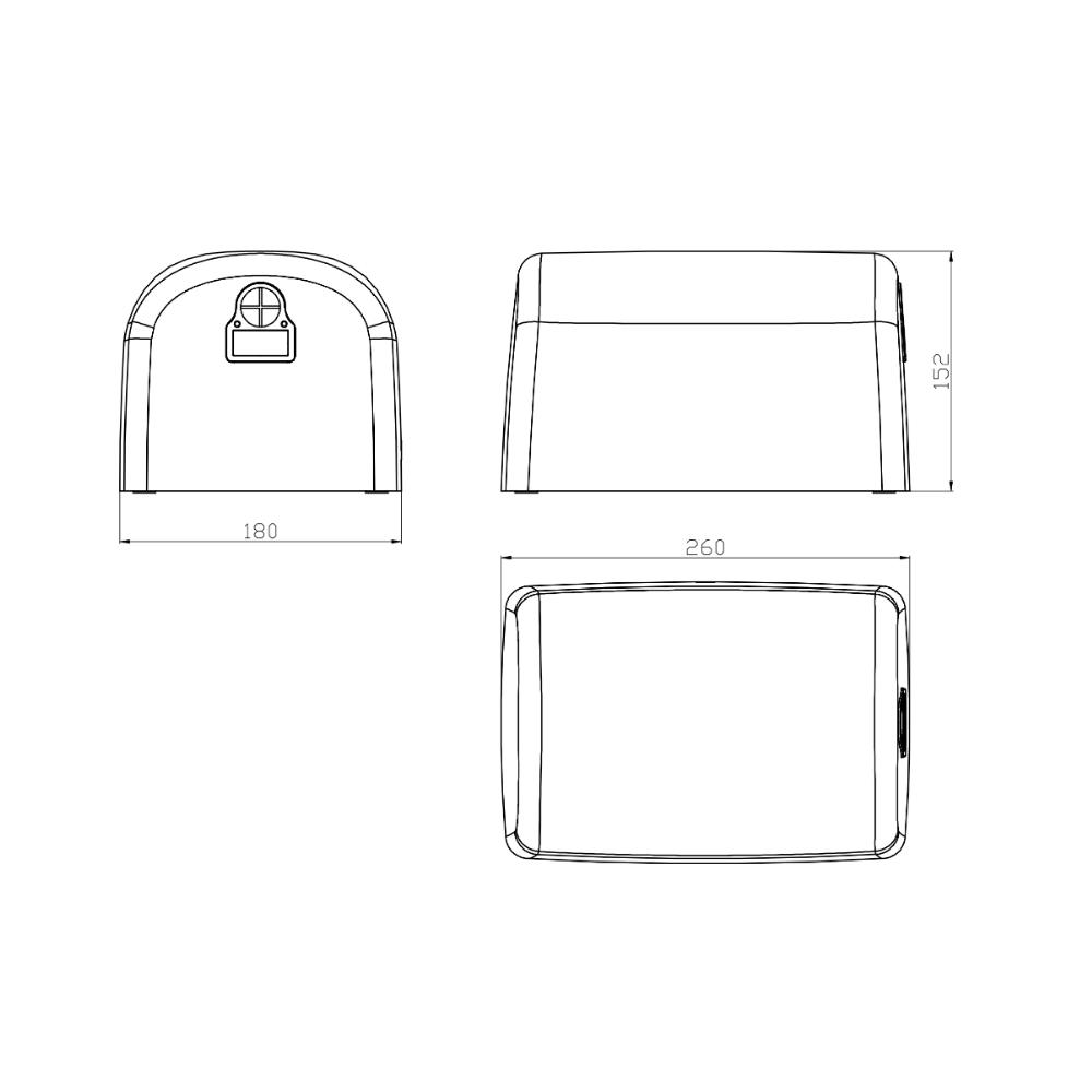 HCG HD5013B AC power hand dryer