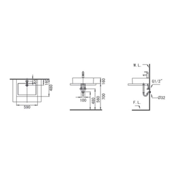 ETON L400 TECHNICAL DRAWING