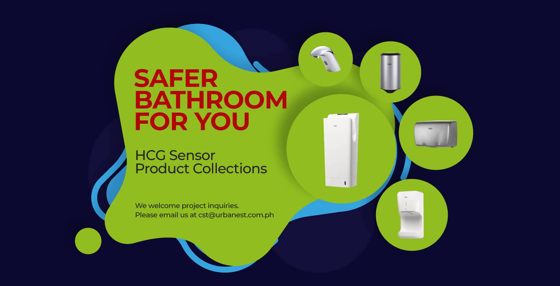 Sensor Product Banner-Safer bathroom for you