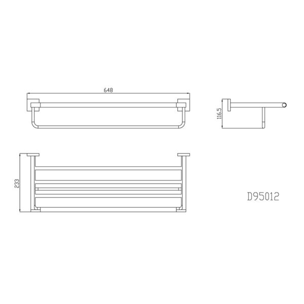 D95012A NC - TECHNICAL DRAWING