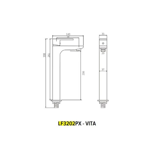 LF3202FPX - TECHNICAL DRAWING