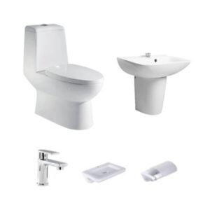 HCG P3123C S1L1 Toilet Package