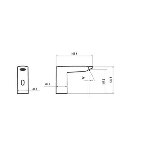 AF0002 NC Sensor Faucet
