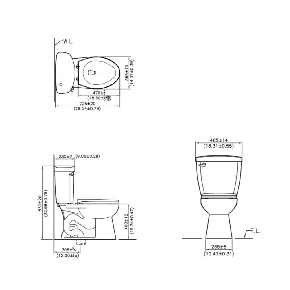 CS3001 AW Technical Drawing