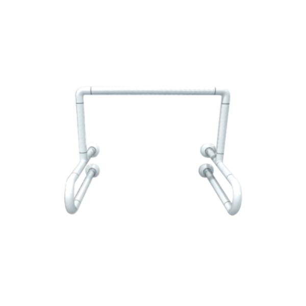 GB900U2-56-AW 3U type anti-bacterial ABS grab bar for urinal