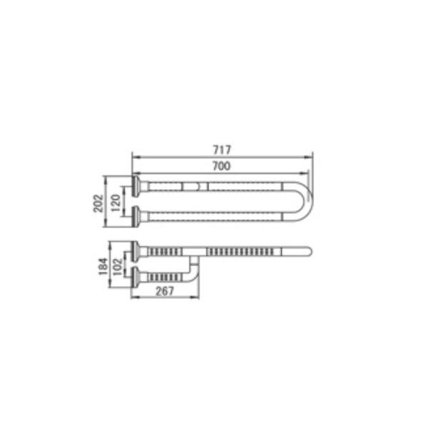 GB900b1-72L AW TECHNICAL DRAWING