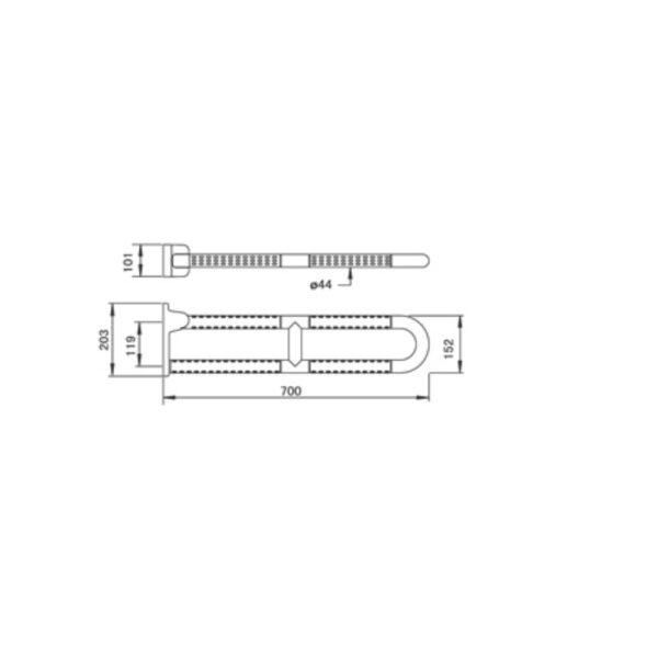 SB100-70L AW TECHNICAL DRAWING