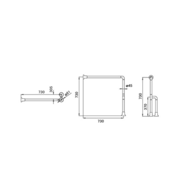 GB900A1-73 AW TECHNICAL DRAWING