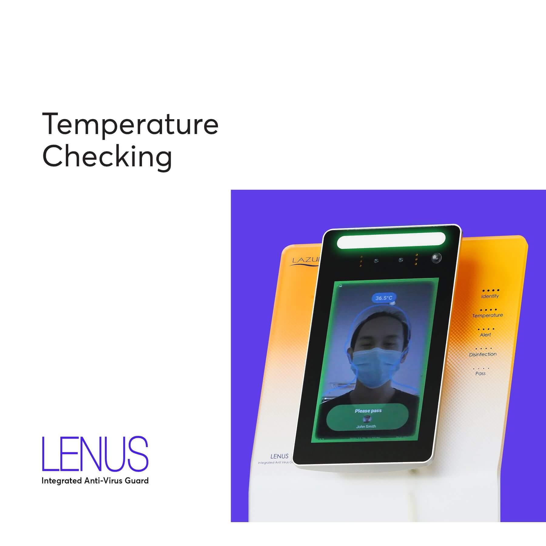 Body temperature check