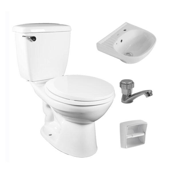Attiva AP2110 AW toilet set
