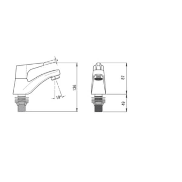 Siera LF3190PX NC technical Drawing