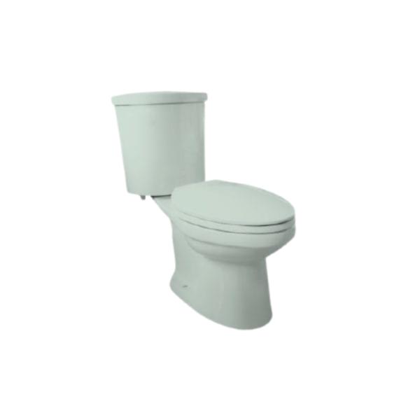 Cezanne CS995PB AG semi-concealed elongated 6 LPF push button type single flush water closet
